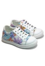 Hokide® Pantofi sport piele Alb