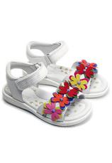 D.D.Step® Sandale piele Alb