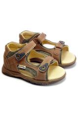 Sunway® Sandale piele  Cafeniu